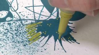 Esittelyssä  Derwent Graphik Line Painter -maalikynät    Introducing Derwent Graphik Line Painter Pens  #derwent #graphik #linepainter #linepainters #pens #linepainterpen #pigmentpainter #tussit