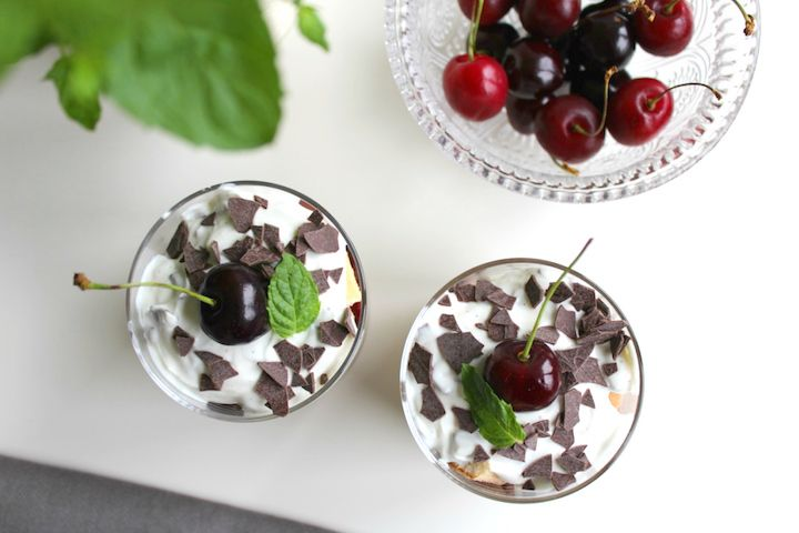 Kirsch-Joghurt-Trifle   Glücksfrucht