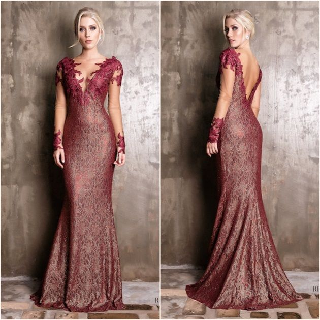 vestido de festa mãe de noiva