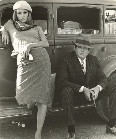 Bonnie and Clyde movie Redford and