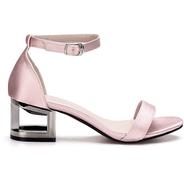 1000  ideas about Pink Heeled Sandals on Pinterest   Pink tops