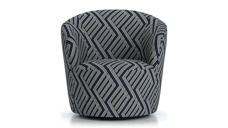 Infiniti swivel chair reviews crate and barrel crate