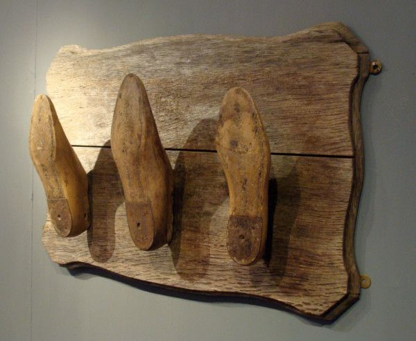 Shoe Last Coat Rack - Astley House Interiors