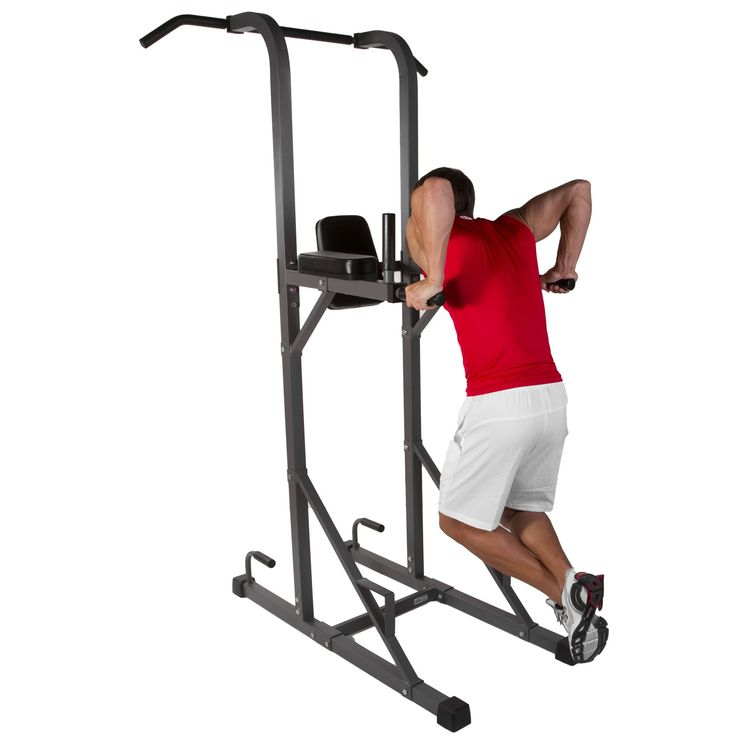 Amazon.com : XMark Power Tower with Dip Station and Pull Up Bar XM-4434 : Workout Equipment : Sports & Outdoors