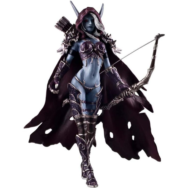 World of Warcraft Sylvanas 7 inch gaming hand model ornaments,Action & Toy Figures