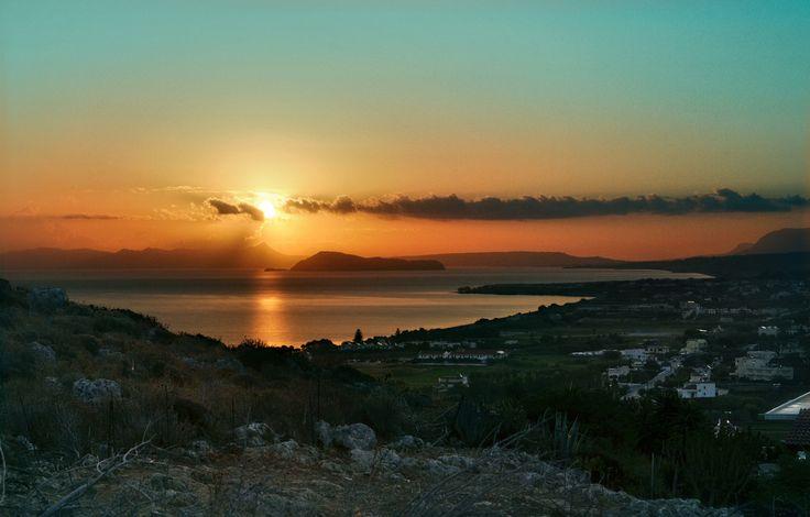 Rising Sun by lucanii  on 500px - Greece, Crete, Kolimbari