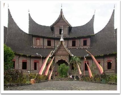 Minangkabau Palace in West Sumatra