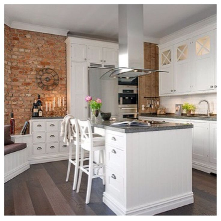Jjo Urban Kitchen Modern Fitted Kitchens: 188 Best Images About Brick Inspiration On Pinterest