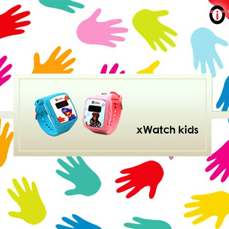 Feel the beauty of happy parenting by ensuring a safe childhood to your kids with xWatch Kids, colorful IoT smartwatches!
