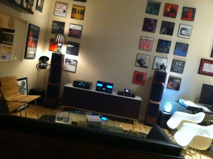 Another cool listening room | My Style | Pinterest | Love ...