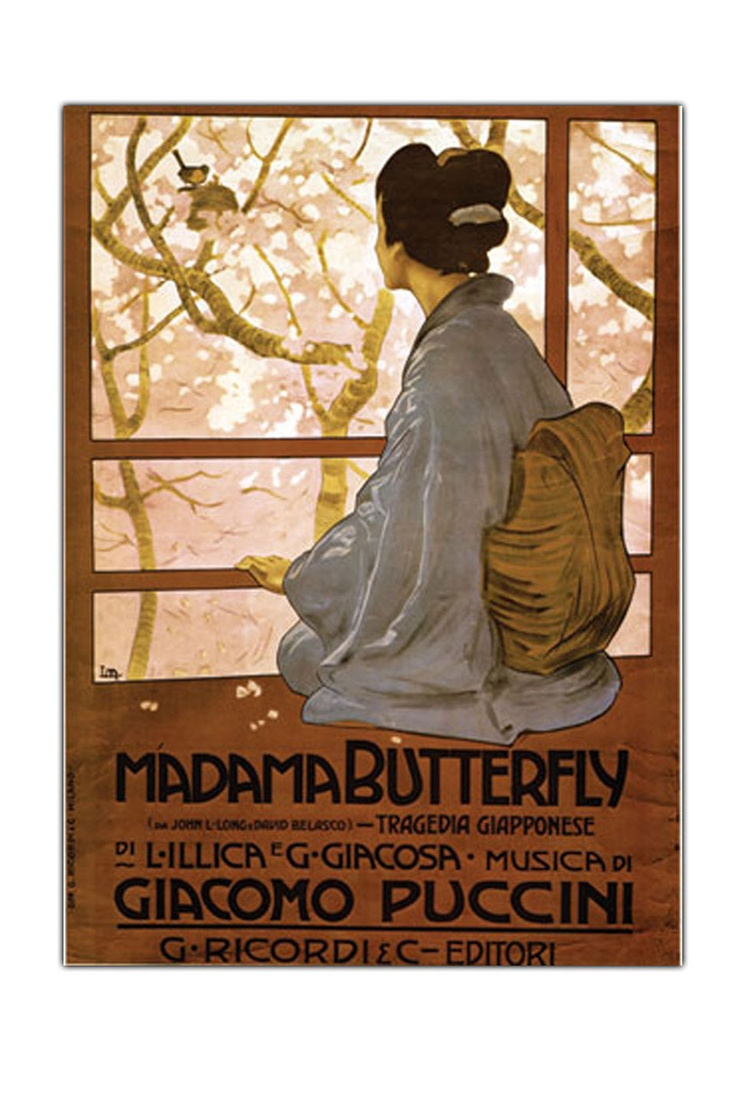 Madam Butterfly, Gallery Wrapped Canvas Art - Beyond the Rack