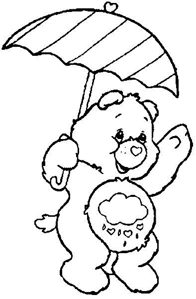 printable grumpy bear coloring pages - photo#25