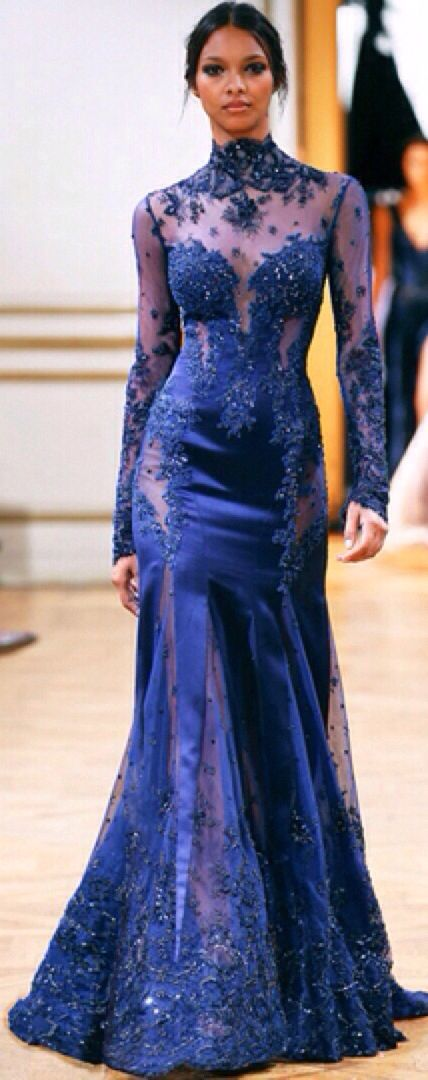 Seriously, if I was famous all the fashion people would hate me because all I would wear is Zuhair Murad
