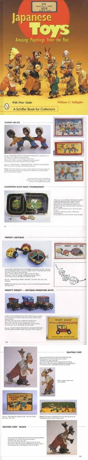 Other Vintage Tin Toys 736: Vintage 1950S 60S Japanese Tin Toys Collector Guide Incl Linemar Mego Cragstan -> BUY IT NOW ONLY: $49.95 on eBay!