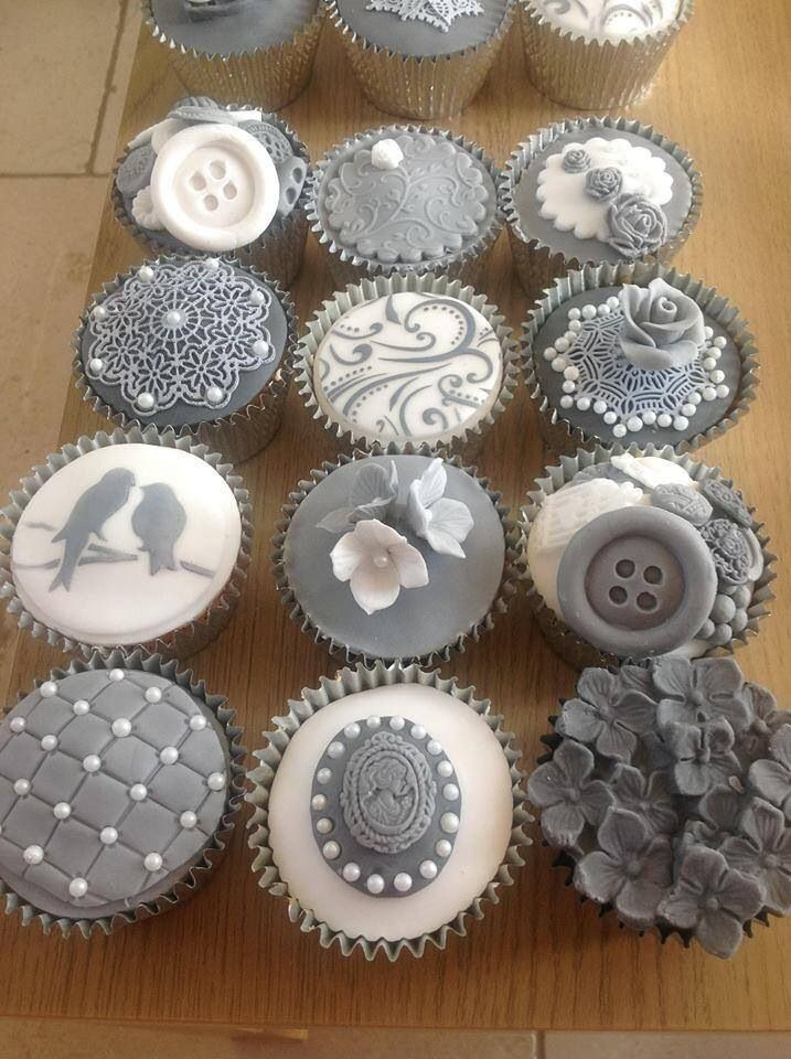The checkered one with pearls is pretty! Cupcakes