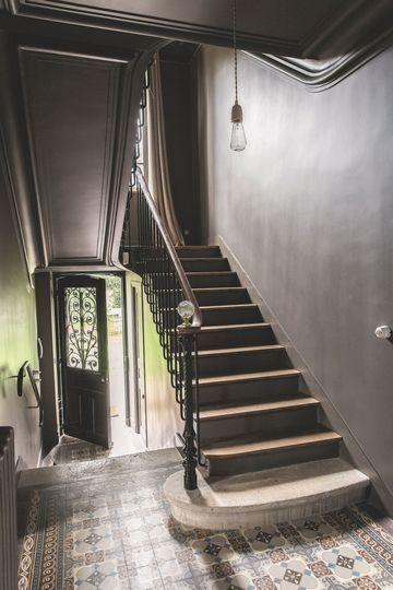 25 beste idee n over cage d 39 escalier op pinterest cage escalier zwarte trap en deco cage