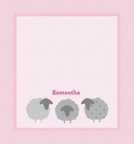Ewe Little Lamb Quilt - Custom Quilts by Stitched