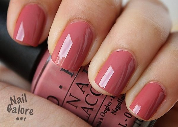 opi java mauve--my nails are currently this color!