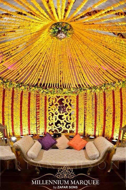 Indian wedding decor ideas for the mandap