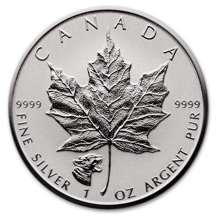 2017 Cougar 1 oz Privy Silver Maple Leaf