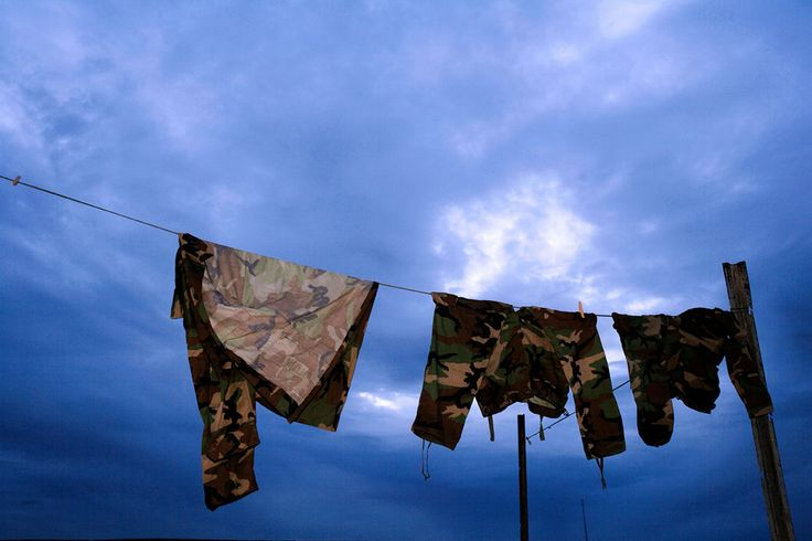 Up to dry