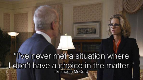 Madam Secretary Photos: 1. Madam Secretary reminds us we always have a say. on CBS.com