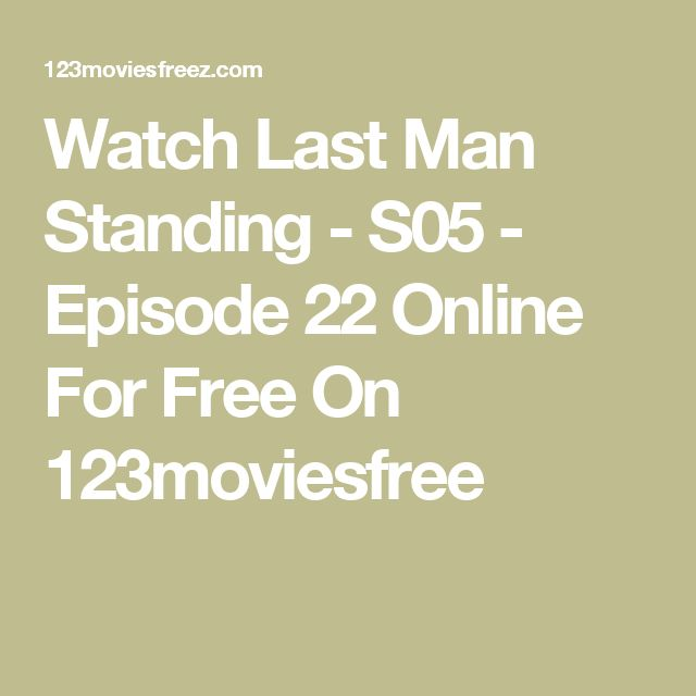 Watch Last Man Standing - S05 - Episode 22 Online For Free On 123moviesfree