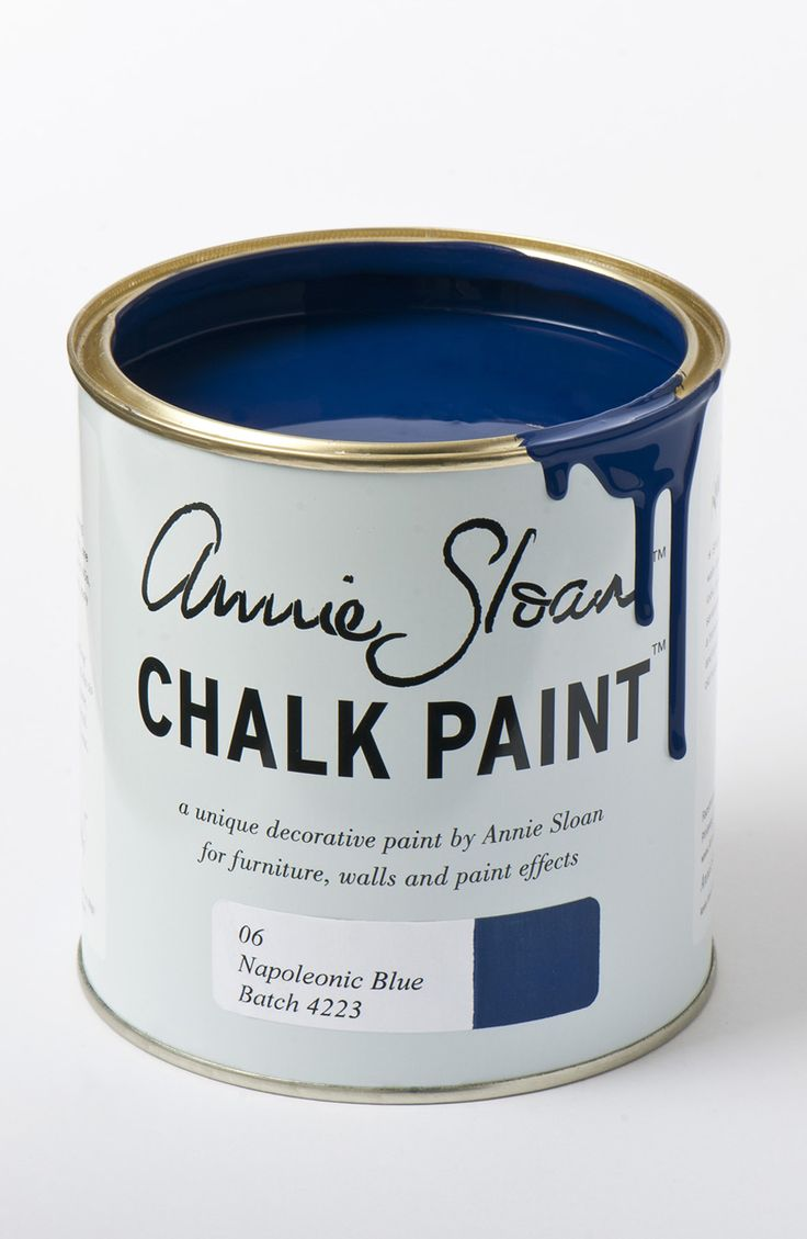 <p>Napoleonic Blue is inspired by the ultramarine and cobalt blue pigments used for decorative work in everything from neoclassical interiors through to modern 20th century decoration.</p> <p>Available in 100ml small project pots and 1 litre tins.</p>