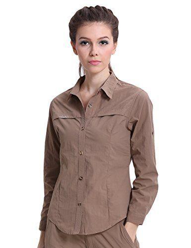 Clothin Women 39 S Quick Dry Lightweight Spf50 Long Sleeve