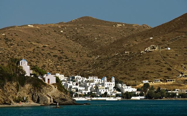 Amorgos, Katapola  by freelancer107, via Flickr