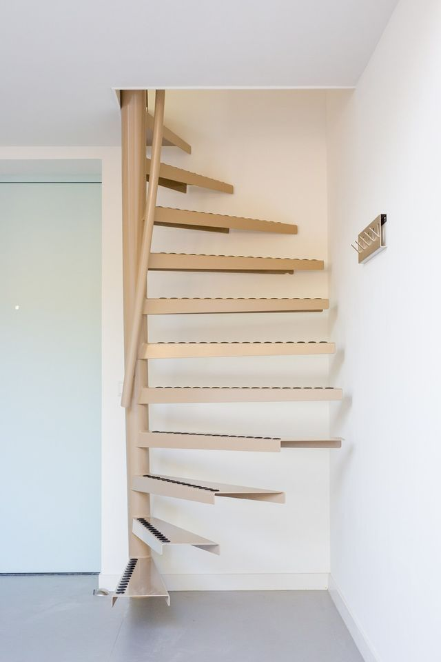 a perfect solution for small space living the 1m2 stairs by eestairs - Small Space Design