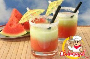 Resep Hidangan Buah Jus Semangkan Melon, Resep Minuman Untuk Diet, Club Masak