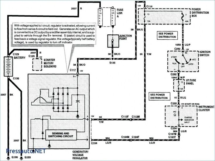 Electrical Wiring Diagram Diagrams 94 Lincoln La Sierra