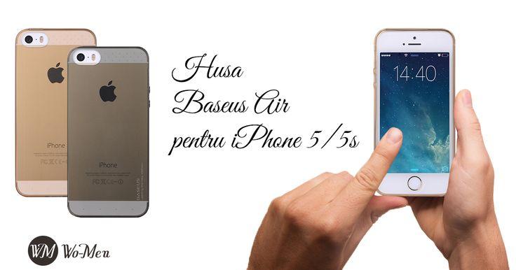 Huse Baseus Air - Design modern si elegant - un plus de stil pentru iPhone 5/5S!