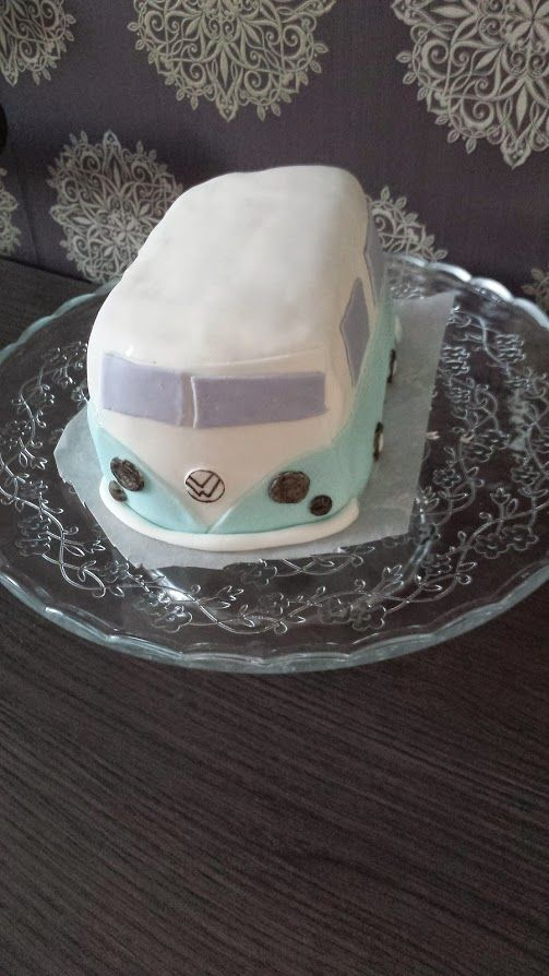 VW bus taart
