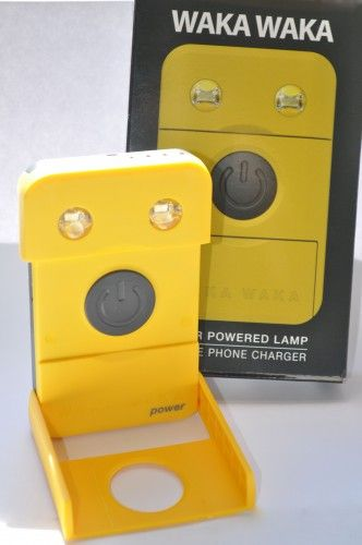 """Review of WakaWaka Power by Martin Bornstein on """"The Gadgeteer"""" site. 