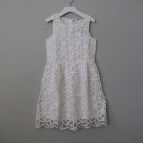 Ragdoll & Rockets White Domini Dress - Size 6/6X, 10