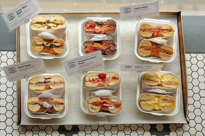 Choose your breakfast by The Bagel Factory www.thebagelfactory.it