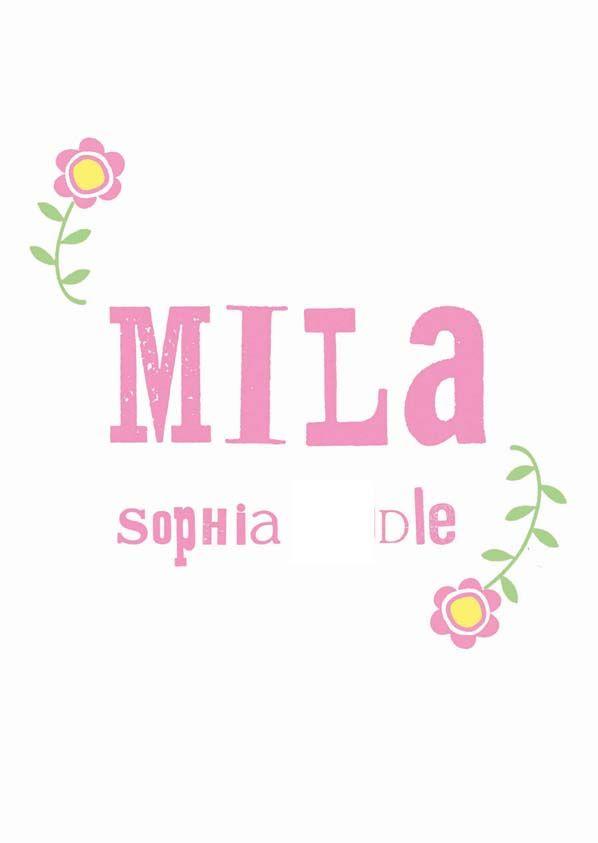 For Mila
