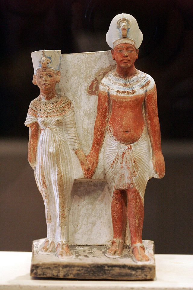 an analysis of the sculpture group of king menkaure and his queen an egyptian sculpture Read and learn for free about the following article: king menkaure (mycerinus) and queen.