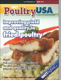 WATT PoultryUSA is the only resource focused on the entire integrated poultry market, delivering relevant and timely information to industry professionals across the poultry supply chain. WATT PoultryUSA uniquely covers the U.S. broiler and turkey markets from a global point of view while providing readers in the U.S. with a comprehensive, forward-looking perspective.
