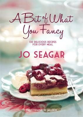 The recipes are tasty but not fussy and they use the kinds of ingredients that I usually have in the cupboard.  A Bit of What You Fancy is the new cook book from New Zealand chef Jo Seagar.