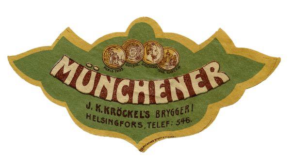 Münchner #olut #etiketit #beer #labels