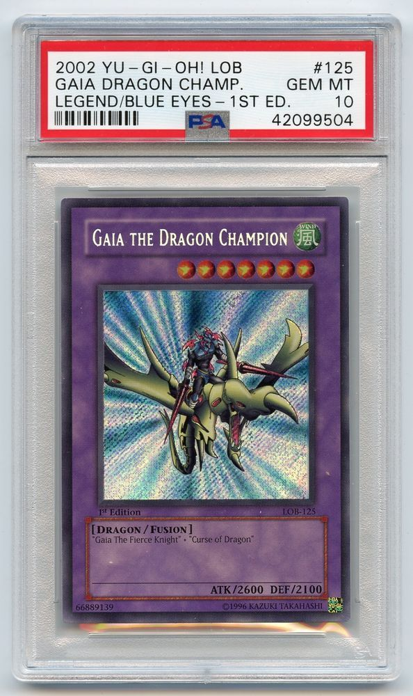 Yu-Gi-Oh! 1st Legend of Blue-Eyes Gaia the Dragon Champion