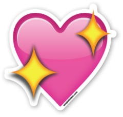 Sparkling Heart | Emoji Stickers