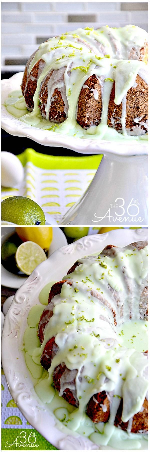 Yummy Key Lime Bundt Cake Recipe... SO DARN GOOD! #recipes