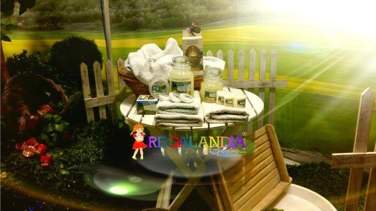 #Yankeecandle #lanostra #nuova #vetrina #giardino #shopwindow #allestimenti