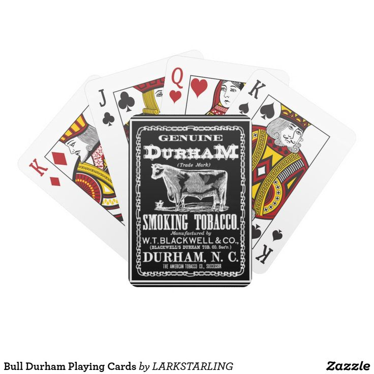 Bull Durham Playing Cards  $13