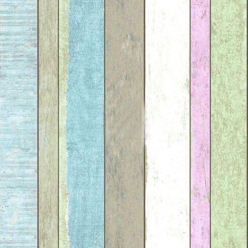 Plank i ljusa färger av grönt, blått, rosa och vitt
