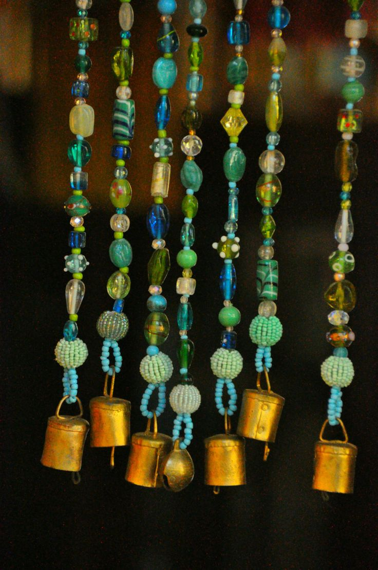 78 ideas about hanging door beads on pinterest gypsy room bohemian room and boho room - Glass beaded door curtains ...